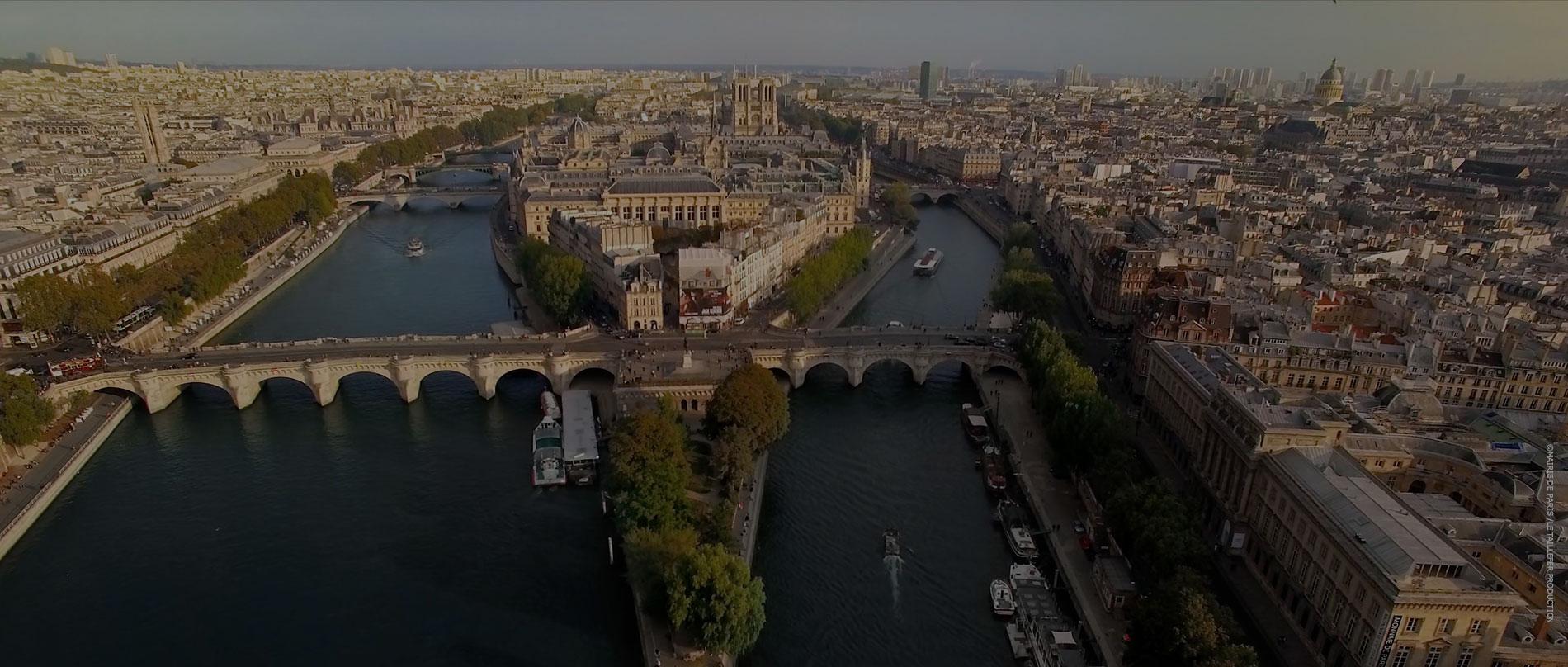 Paris fonds vert