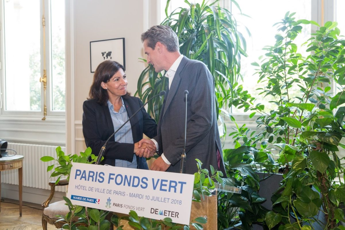 Premier closing de Paris Fonds Vert à plus de 100M€
