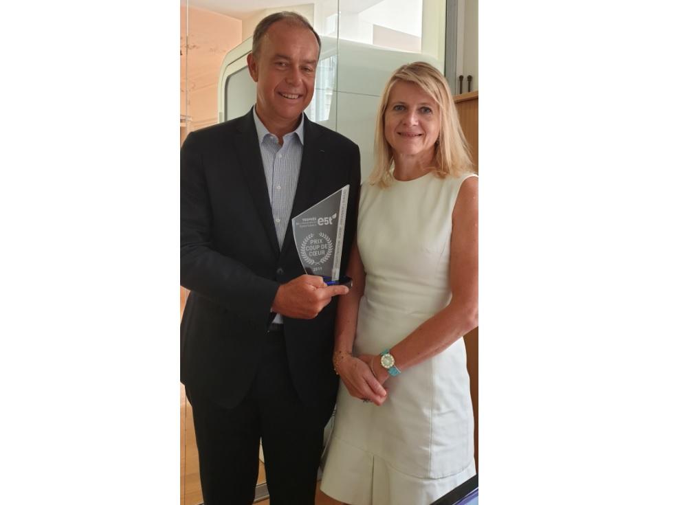 Demeter reçoit le prix « coup de cœur » 2019 de la Fondation e5t